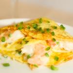 Shrimp & Corn Crepes - Living Fit Lifestyle