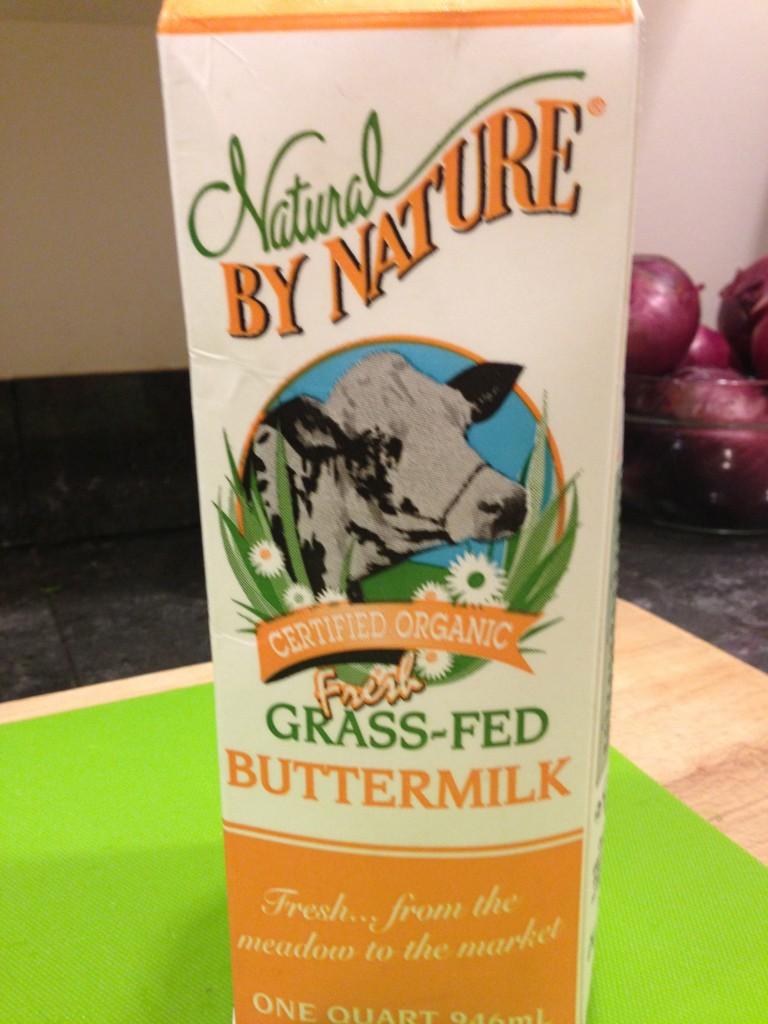 Living Fit Lifestyle - low fat buttermilk