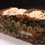 Beef, Spinach and Mushroom Lasagna