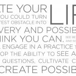 Week 4 – Create a Habit