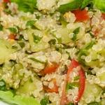 Quinoa Tabouli - Living Fit Lifestyle