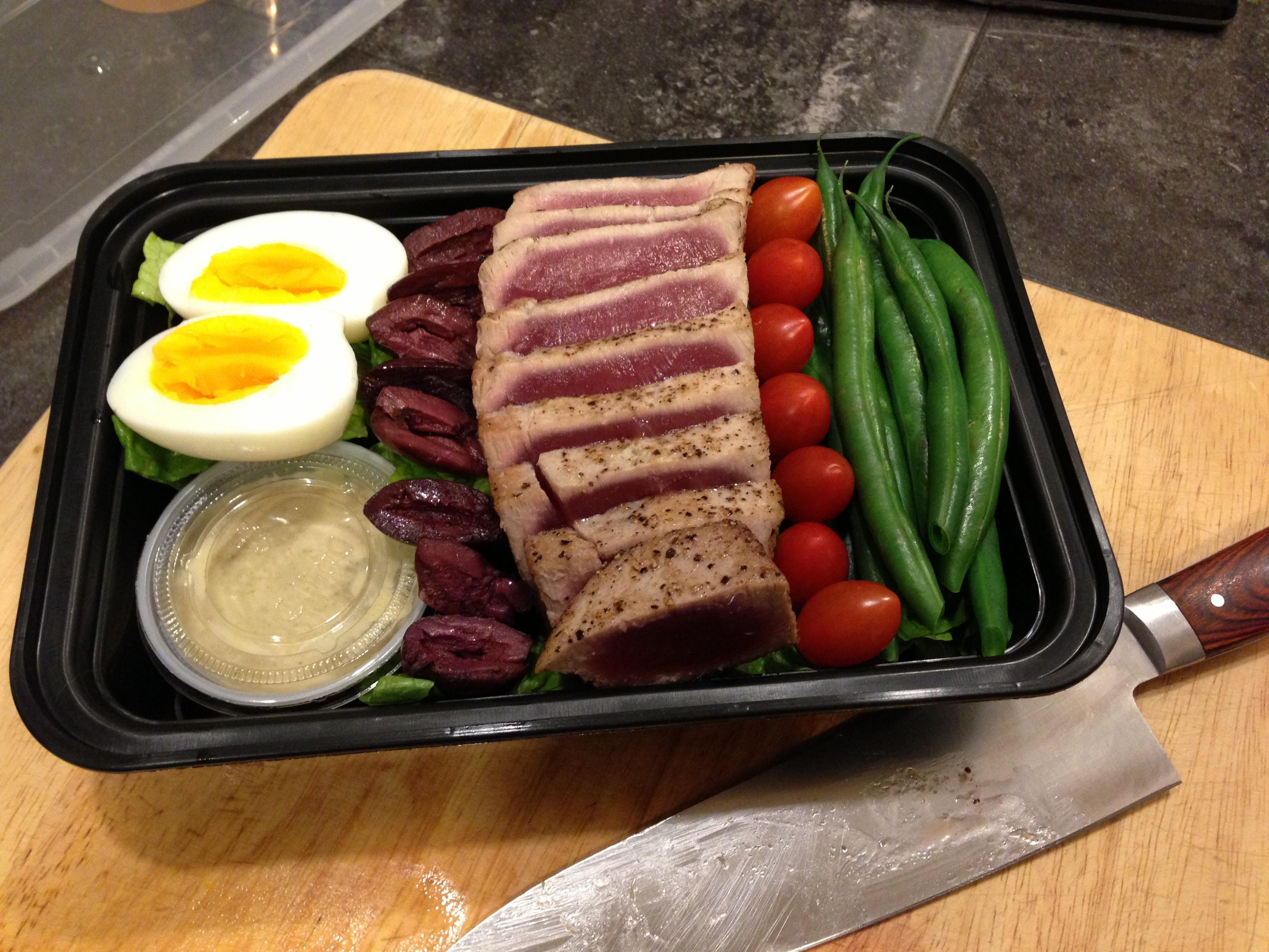 Fresh Tuna Nicoise - Living Fit Lifestyle