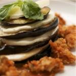 Grilled Eggplant Parmesean - Living Fit Lifestyle